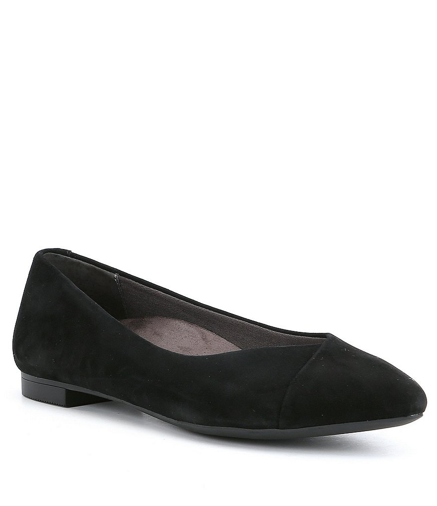 Vionic® Caballo Suede Slip-On Flats