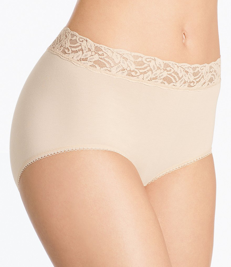 Wacoal Cotton Suede® Brief Panty