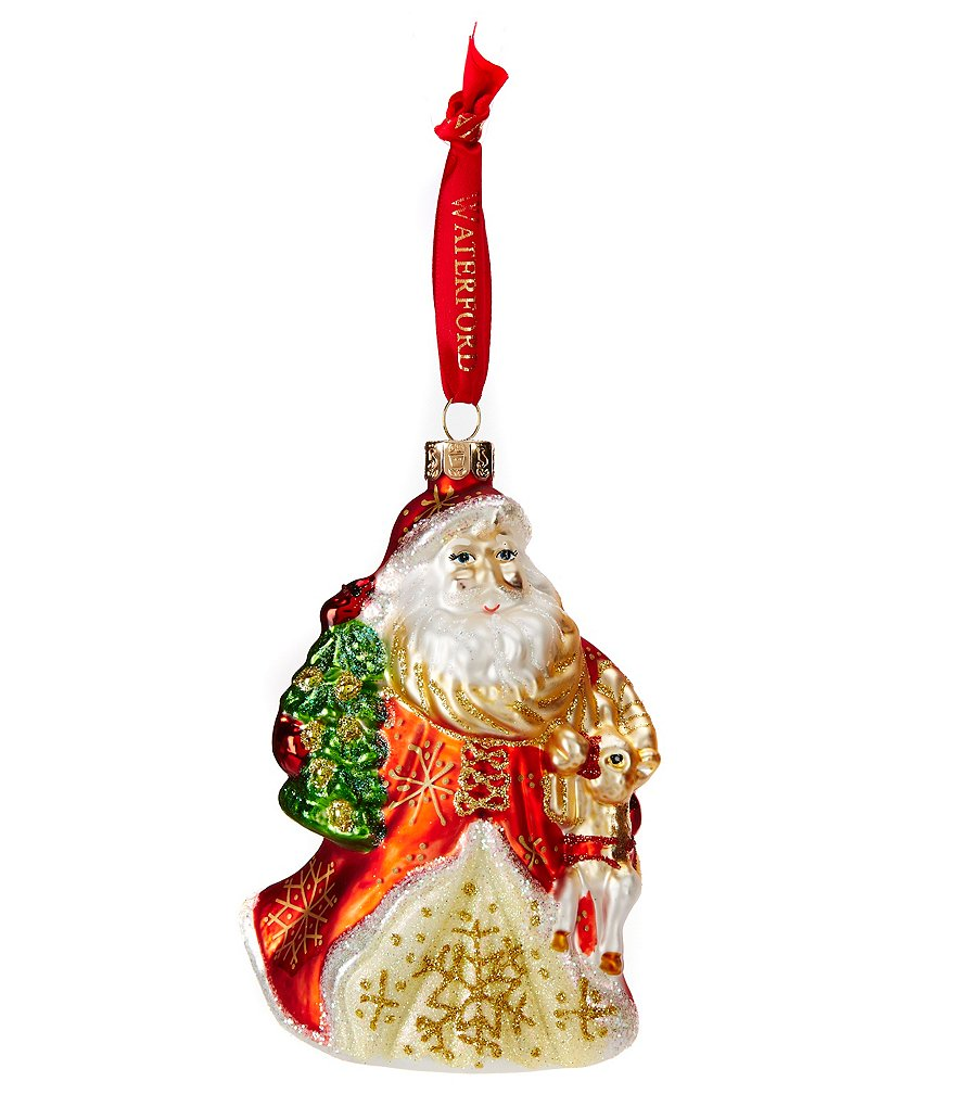 Waterford 2016 Holiday Heirlooms Nostalgic Santa´s Little Friend Ornament Gift with Purchase