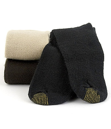 Gold Toe Extended Size Fluffies Socks 3-Pack