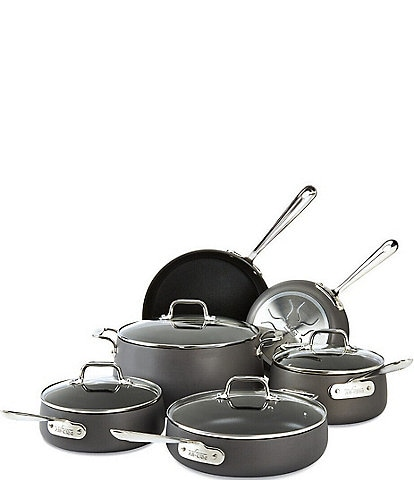 All-Clad HA1 Hard-Anodized Nonstick 10-Piece Cookware Set