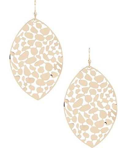 Anna & Ava Brooklynn Abstract Cut Out Statement Earrings