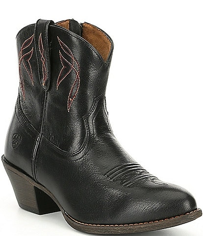 Ariat Darlin Short Leather Western Boots