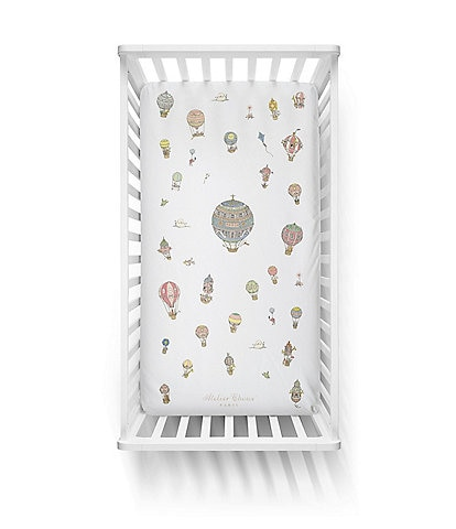 Atelier Choux Paris Baby Balloon Fitted Crib Sheets