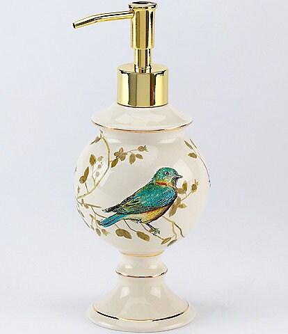 Avanti Linens Gilded Birds Lotion Bottle