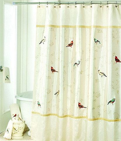Avanti Linens Gilded Birds Shower Curtain