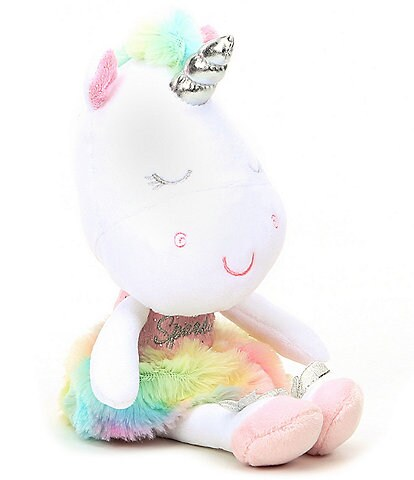 Baby Starters 11#double; Gabby Unicorn Plush Doll with Magical Sound