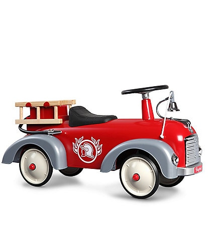 Baghera Speedster Fireman Ride On Firetruck