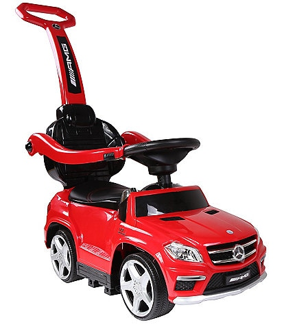 Best Ride On Cars 4-in-1 Mercedes Push Car