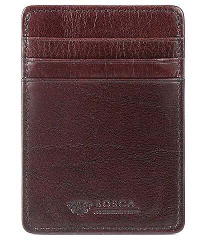 Bosca Deluxe Front-Pocket Wallet