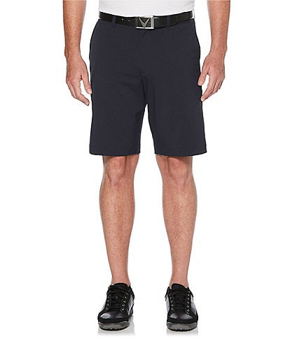 Callaway Golf Big & Tall 10 1/2#double; Inseam and 11 1/2#double; Inseam Classic Flat-Front Shorts