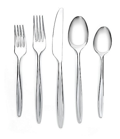 Cambridge Silversmiths Natalia 20-Piece Stainless Steel Flatware Set