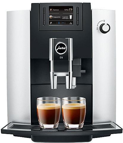 Jura E6 Platinum Coffee Maker & Espresso Machine