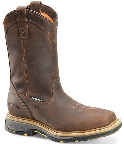Carolina Men's 11#double; WorkFlex Waterproof Composite Square Toe Roper Work Boots