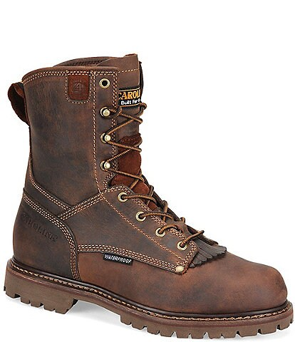 Carolina Men's 28 Series 8#double; Waterproof Work Boots