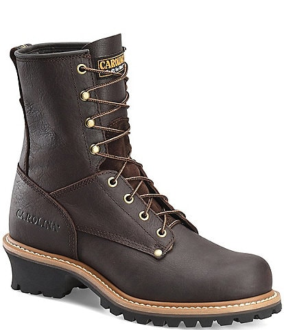 Carolina Men's Elm 8#double; Steel Toe Logger Work Boots