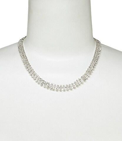 Cezanne Rhinestone Collar Necklace