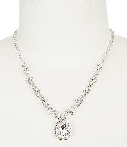 Cezanne Teardrop Weave Collar Necklace