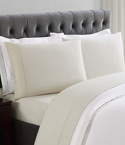 Charisma 310 Thread Count Cotton Classic Dot Sheets