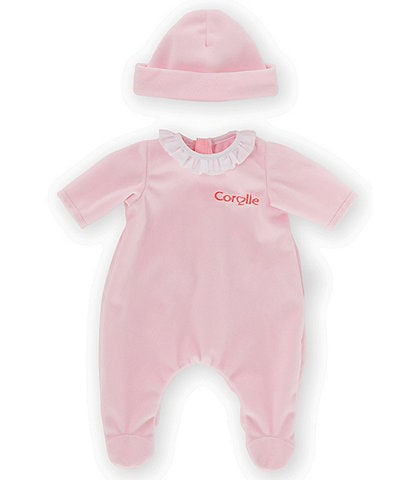 Corolle Dolls Pink Pajamas for 12-Inch Baby Doll
