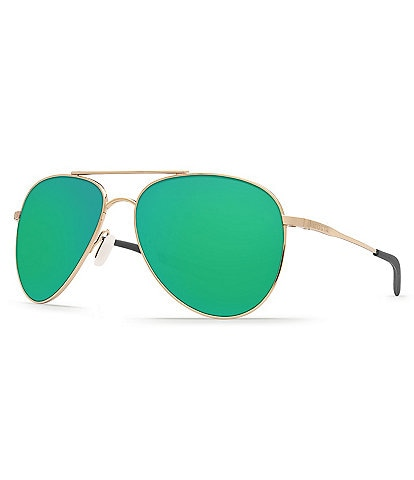 Costa Cook Polarized Mirrored Aviator Sunglasses