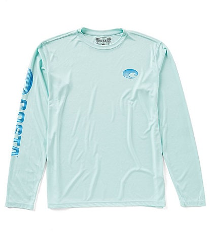 Costa Tech Core Long-Sleeve Performance Crew Shirt