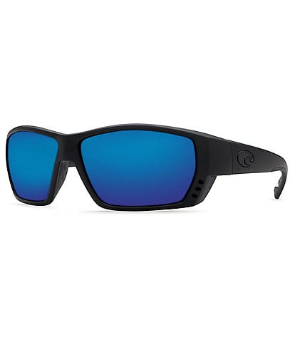 Costa Tuna Alley Blackout/Blue Mirror Polarized Sunglasses
