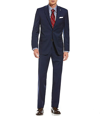 Cremieux Modern Fit Solid Wool Suit