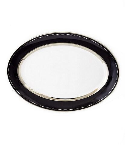 Darbie Angell Black Luxe Oval Platter