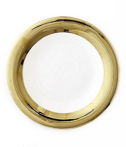 Darbie Angell Monaco 24KT Gold Dinner Plate