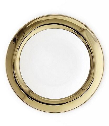 Darbie Angell Monaco 24KT Gold Salad Plate