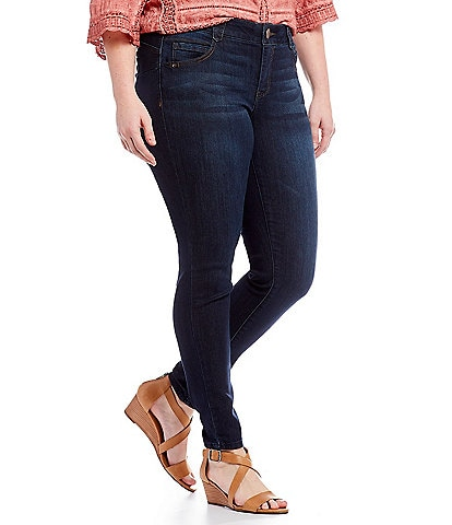 Democracy Plus #double;Ab#double; Solution Dark Wash Jegging