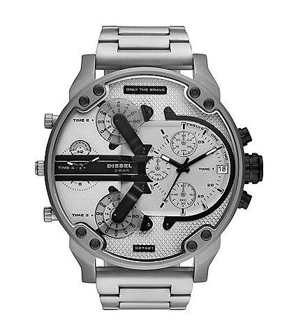 Diesel Mr. Daddy 2.0 Chronograph Stainless Steel Watch