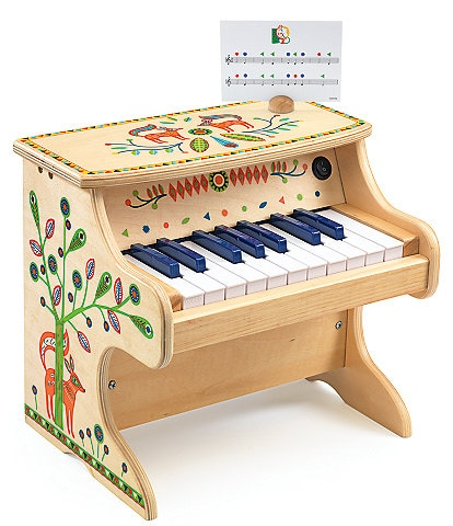 Djeco Instrumental Electric Musical Piano 18 Key