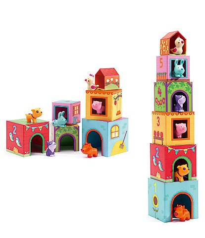 Djeco Topanifarm Stacking Blocks