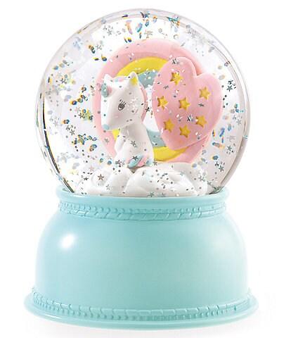 Djeco Unicorn Snow Ball Night Light