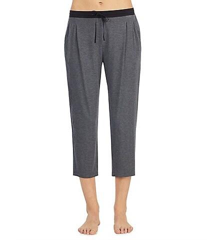 Donna Karan Jersey Knit Capri Sleep Pants