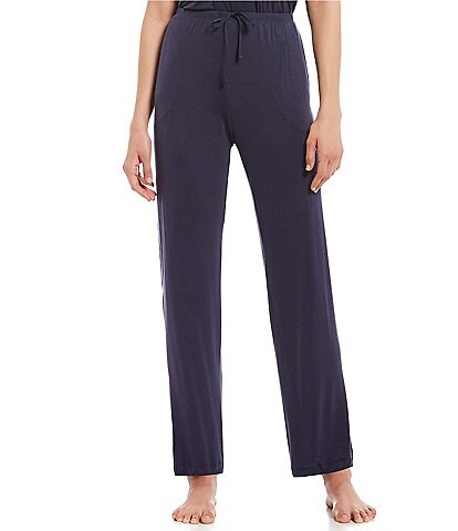 Donna Karan Solid Jersey Knit Sleep Pants