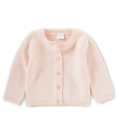 Edgehill Collection Baby Girls Newborn-24 Months Sweater Cardigan