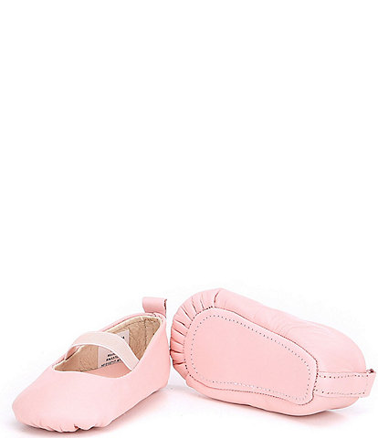 Edgehill Collection Baby Girls' Soft-Sole Leather Crib Shoes