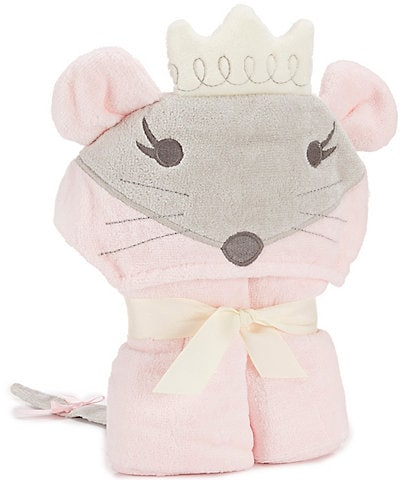 Elegant Baby Girls Mouse Hooded Bath Towel