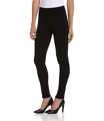Eva Varro Double-Layer Jersey Slimming Seam Leggings