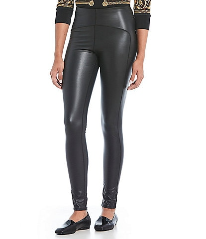 Eva Varro Faux Leather Leggings