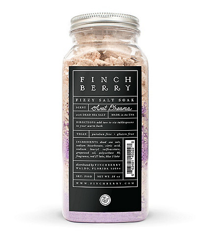 Finchberry Sweet Dreams Fizzy Salt Soak