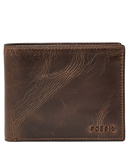 Fossil Ingram Leather RFID-Blocking Wallet
