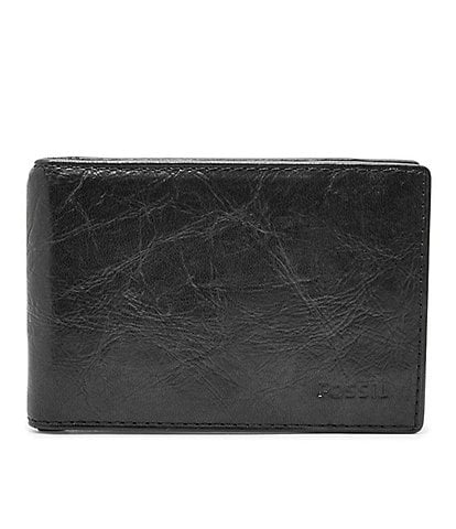 Fossil Ingram RFID Leather Money Clip Bifold Wallet