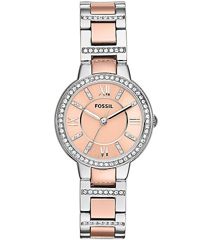 Fossil Virginia Two-Tone Watch