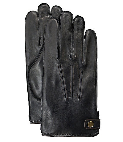 Fownes Men's Snap-Side Leather Gloves