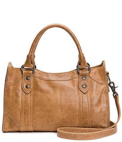 Frye Melissa Washed Leather Satchel