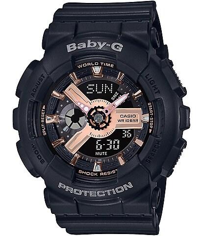 G-Shock Ana Digi Black & Gold Shock Resistant Watch